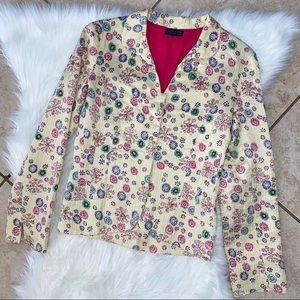 Antik Batik | Vintage Silk Sequence Blazer